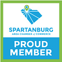 Proud Member of the Spartanburg Area Chamber of Commerce